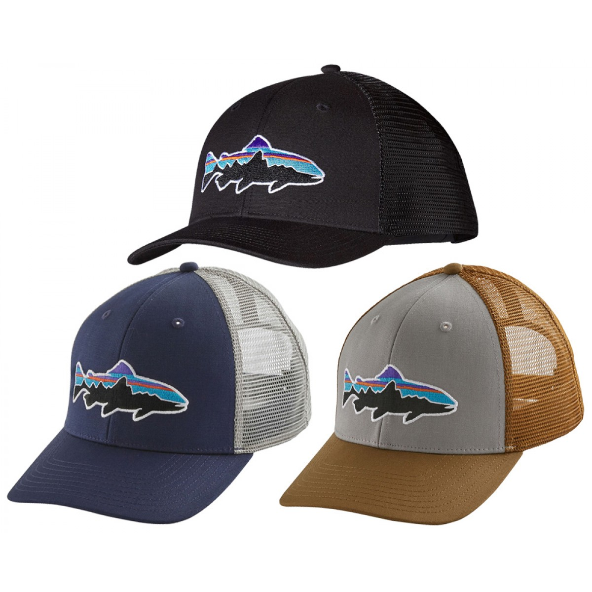 separation shoes 69b33 85fa3 Patagonia Fitz Roy Trout Trucker Hat