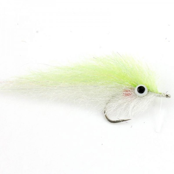 E.P. Pilchard Fly, Chartreuse #2/0