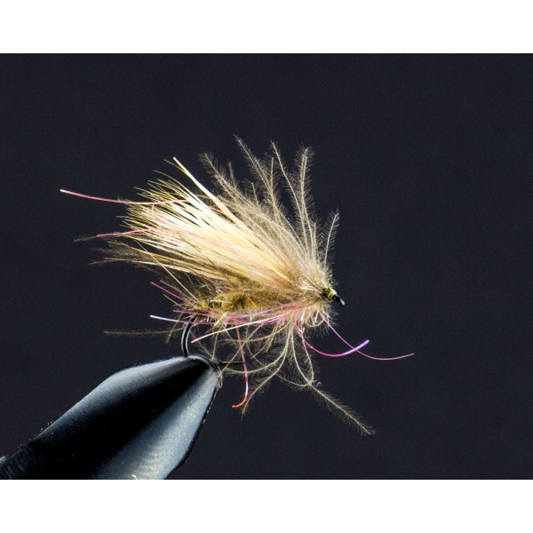 CDC Sparkle Buck Caddis tan
