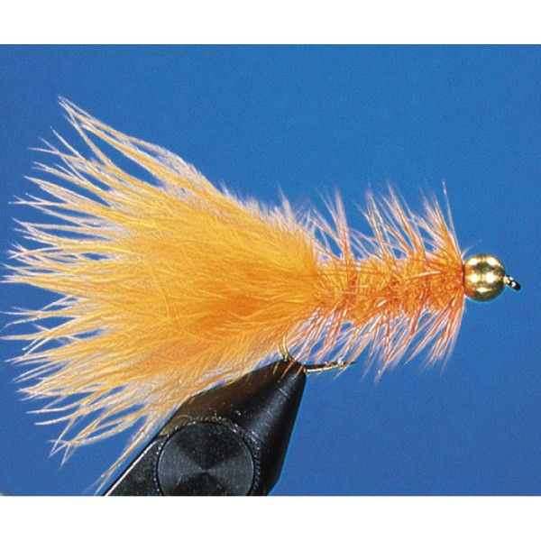 Goldkopf Wooly Bugger, orange