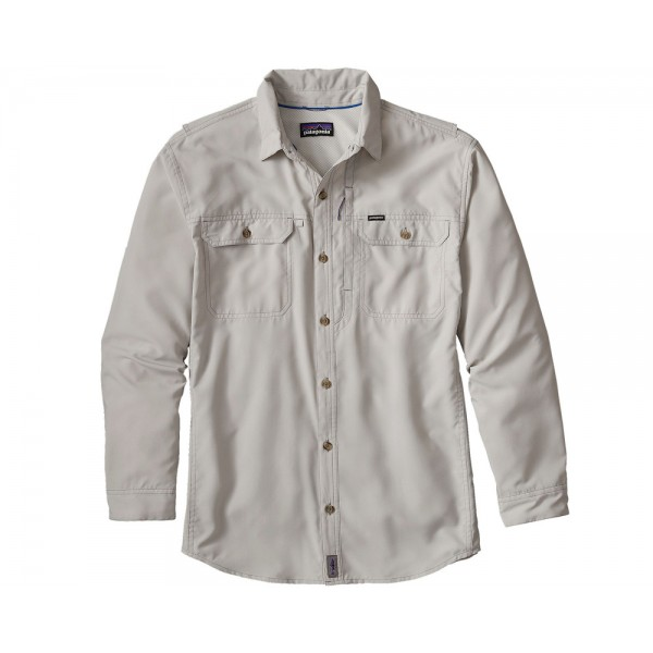 Patagonia L/S Sol Patrol II Shirt, tailored grey