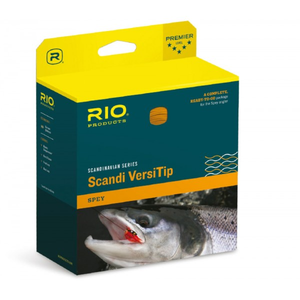 RIO Scandi Short VersiTip Shooting Head
