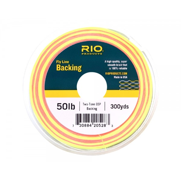 RIO Two Tone Colour Change Backing 50 lb (22,7 kg)