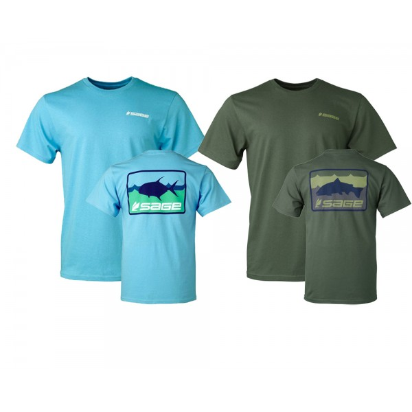SAGE On The Water Tee T-Shirt