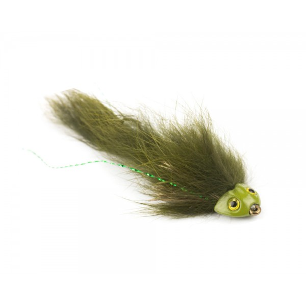 Sculpin Flex Streamer, olive #4