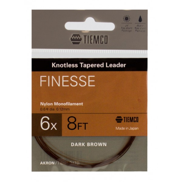 TIEMCO AKRON Vorfach Finesse 240 cm / 8 ft.