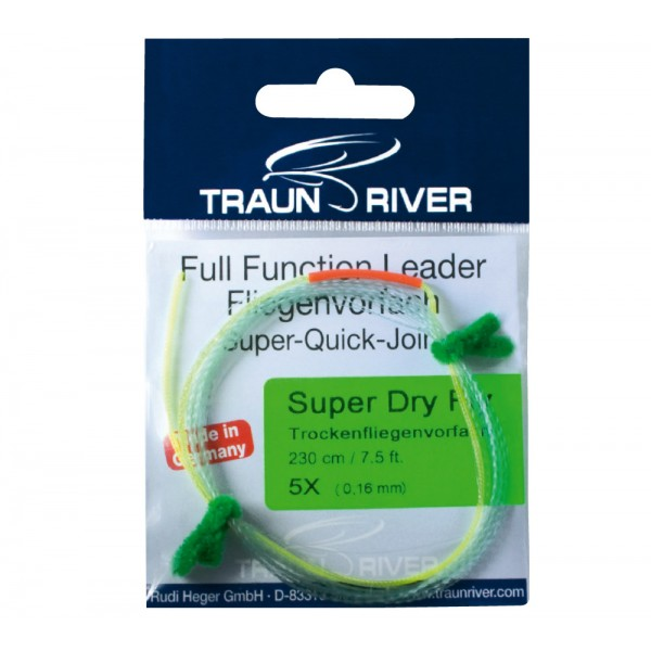 TRAUN RIVER Super Dry Fly 275 cm Vorfach