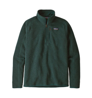 Patagonia M's Better Sweater 1/4-Zip Fleece, piki green