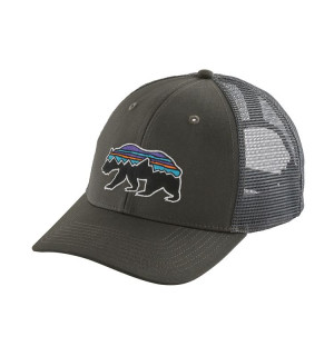 Patagonia Fitz Roy Bear Trucker Hat, forge grey