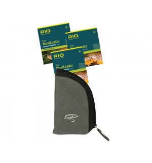 3er Pack RIO Trout VersiLeader 7 ft & Vorfachtasche