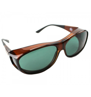 Cocoons Fit-Over Polarisationsbrille, chocolate