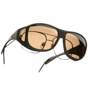 Cocoons Fit-Over Polarisationsbrille, photochromic amber (selbsttönend)