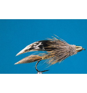 Conehead Muddler Minnow natural