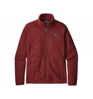 Patagonia Better Sweater Fleece Jacket, oxide red