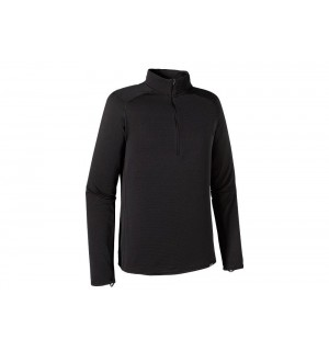 Patagonia Capilene Thermal Weight Zip Neck black