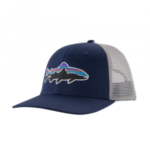 Patagonia Fitz Roy Trout Trucker Hat, classic navy