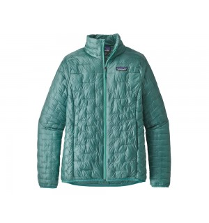 Patagonia Womens Micro Puff Jacket, beryl green