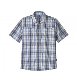 Patagonia Sun Stretch Shirt, king swing/radar blue