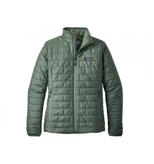 Patagonia Womens Nano Puff Jacket, pesto