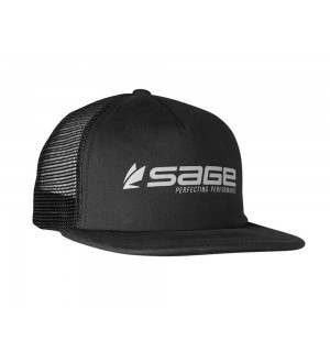 SAGE Hat Foam Trucker, black