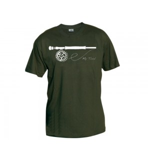 TRAUN RIVER T-Shirt My Tool, olive