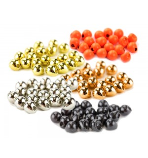 Tungsten Off Center Beads - Vorteils-Set