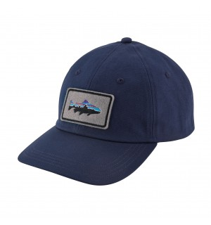 Patagonia Fitz Roy Trout Patch Hat, navy blue