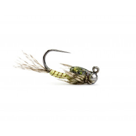 Two Bit Hooker Jig, light olive