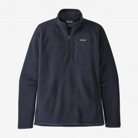 Patagonia M's Better Sweater 1/4-Zip Fleece, new navy
