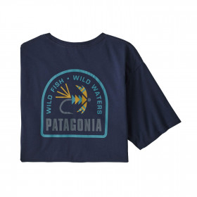 Patagonia M's Soft Hackle Organic T-Shirt, new navy