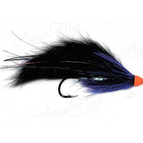 Bunny Hair Leech, black/blue