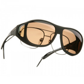 Cocoons Fit-Over Polarisationsbrille, amber