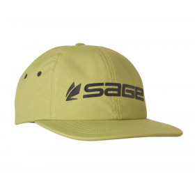 SAGE Relaxed Nylon Hat - Logo Green