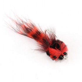 Tarpon Toad, red / black