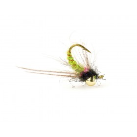 Magic Drop Nymph, olive/black (6 Stück)