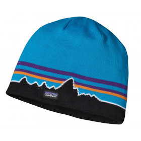 Patagonia Beanie Hat, classic fitz roy: andes blue