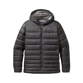 Patagonia High-Loft Down Hoody, forge grey