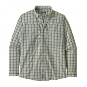 Patagonia M's L/S Sun Stretch Shirt, gulf coast: gypsum green