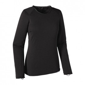 Patagonia Womens Capilene Thermal Weight Crew black