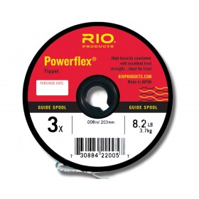 RIO Powerflex Tippet 100m Guide Spule