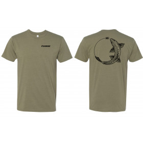 SAGE Chase Tee Trout, light olive