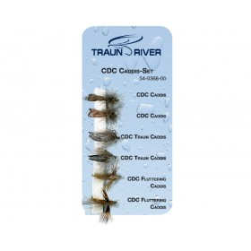 TRAUN RIVER CDC Caddis Set