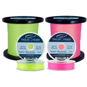 TRAUN RIVER Super Backing (Gel Spun)