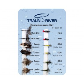 TRAUN RIVER Trockenfliegen Set