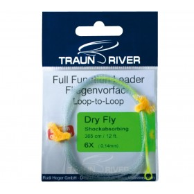 TRAUN RIVER Dry Fly Shockabsorbing Vorfach