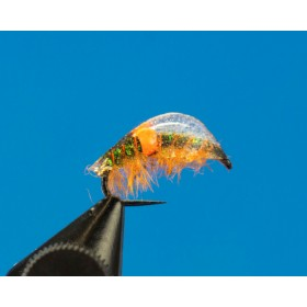UV Shrimp Bachfloh, orange