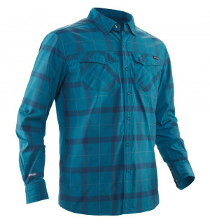NRS Men's Long-Sleeve Guide Shirt, Fjord