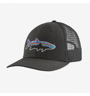 Patagonia Fitz Roy Fish LoPro Trucker Hat Tarpon, forge grey