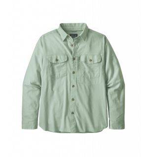 Patagonia L/S Cayo Largo II Shirt, gypsum green
