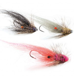 12-Pack Danish Seatrout Tube Flies